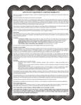 APW Wyott's Warranty Information