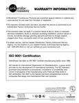 InSinkErator's Warranty Information