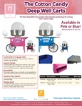 Deep Well Cotton Candy Cart Spec Sheet