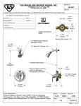 T&S B-3301 Spec Sheet