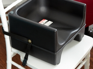 Cambro 200bcs110 Plastic Booster Seat Dual Seat With