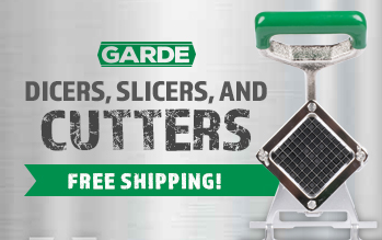 Garde Slicers, Dicers, and Cutters