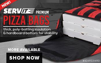 ServIT Premium Pizza Bags