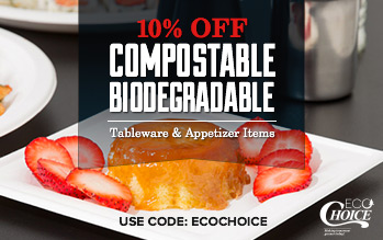 EcoChoice Biodegradable Tableware