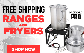 Backyard Pro Turkey Fryer Kits