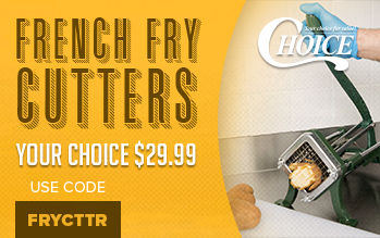 Choice French Fry Cutter Sale