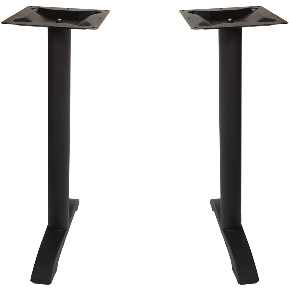 Counter Height End Table : ... Margate Outdoor / Indoor Bar Height Black End Table Base Set