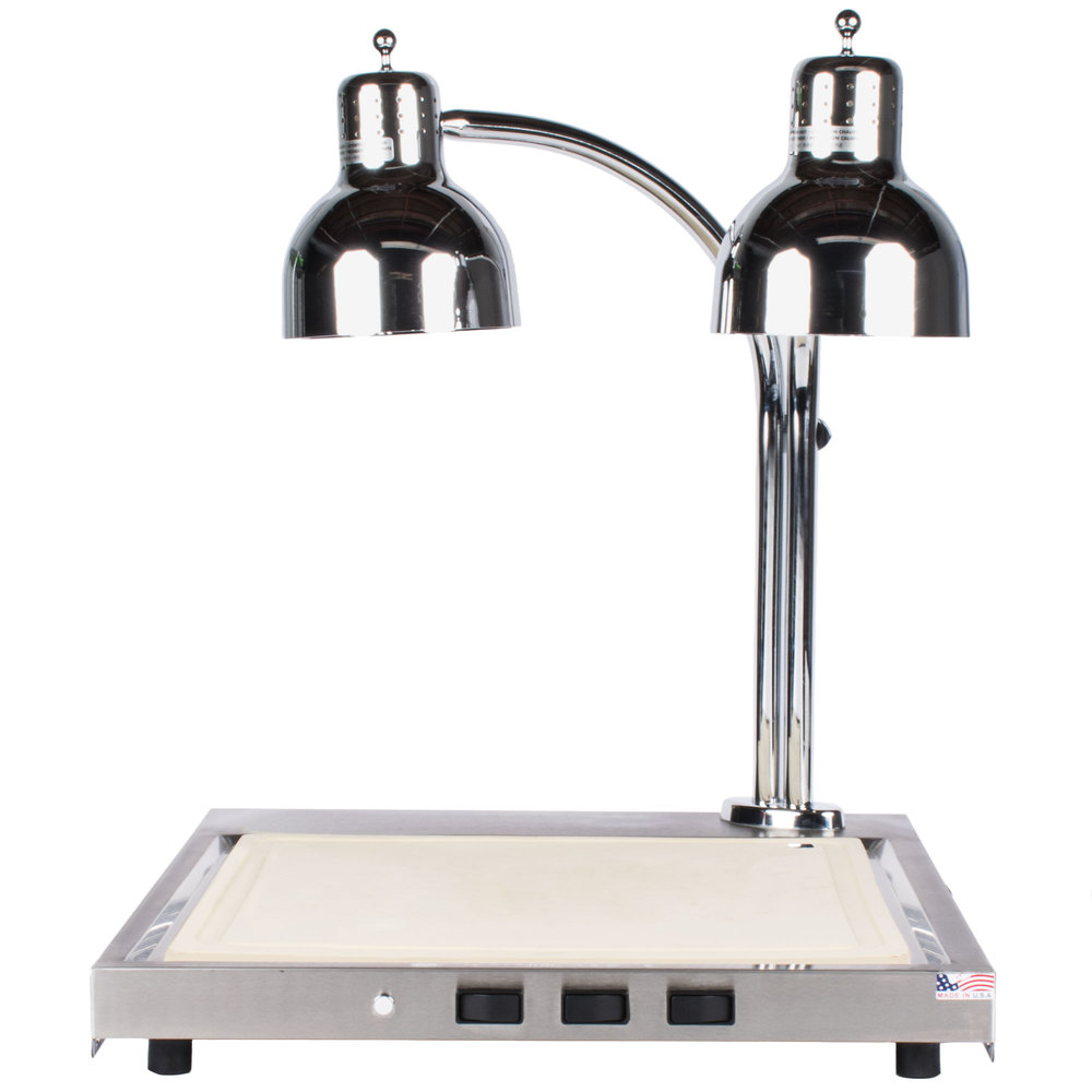 Alto shaam cs heated dual lamp carving station v