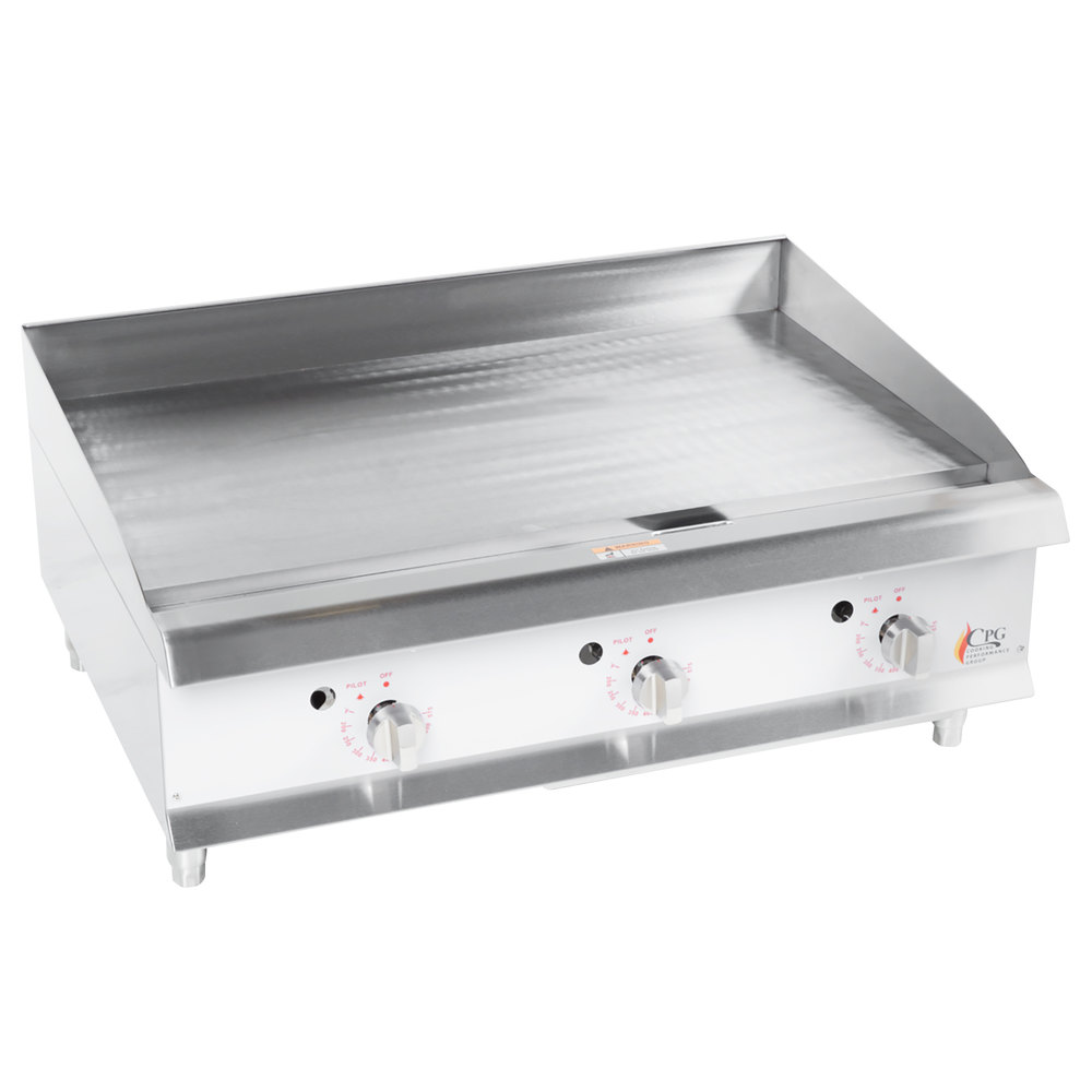 Cooking Performance Group G36t 36 Quot Gas Countertop Griddle