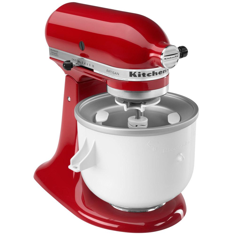 Kitchen Aid Ice Maker: KitchenAid KAICA Ice Cream Maker Attachment