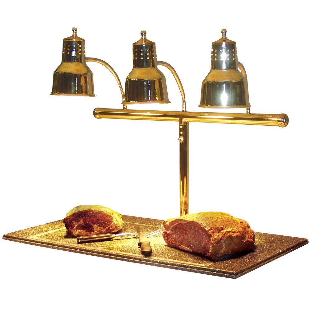 Hanson heat lamps lm bb triple bulb quot brass