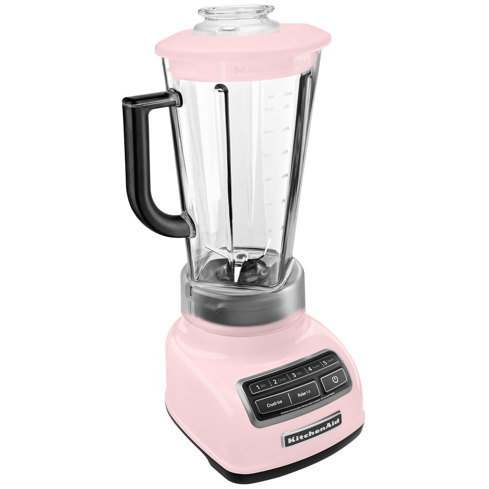kitchenaid ksb1575pk pink diamond 60 oz five speed blender