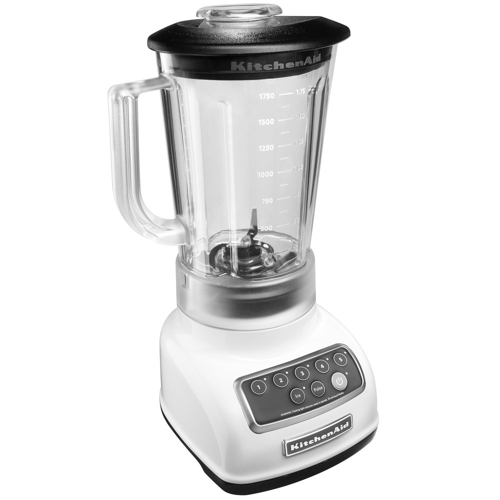 kitchenaid ksb1570wh white 56 oz five speed blender