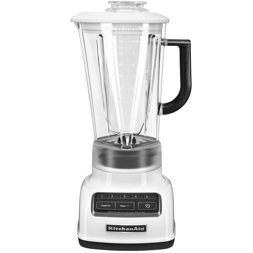 kitchenaid ksb1575wh white diamond 60 oz five speed blender