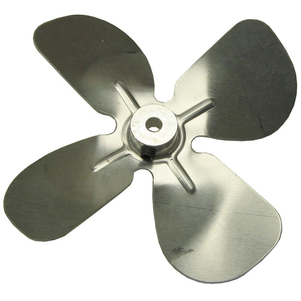 Large Fan Blades : All points fan blade with quot bore