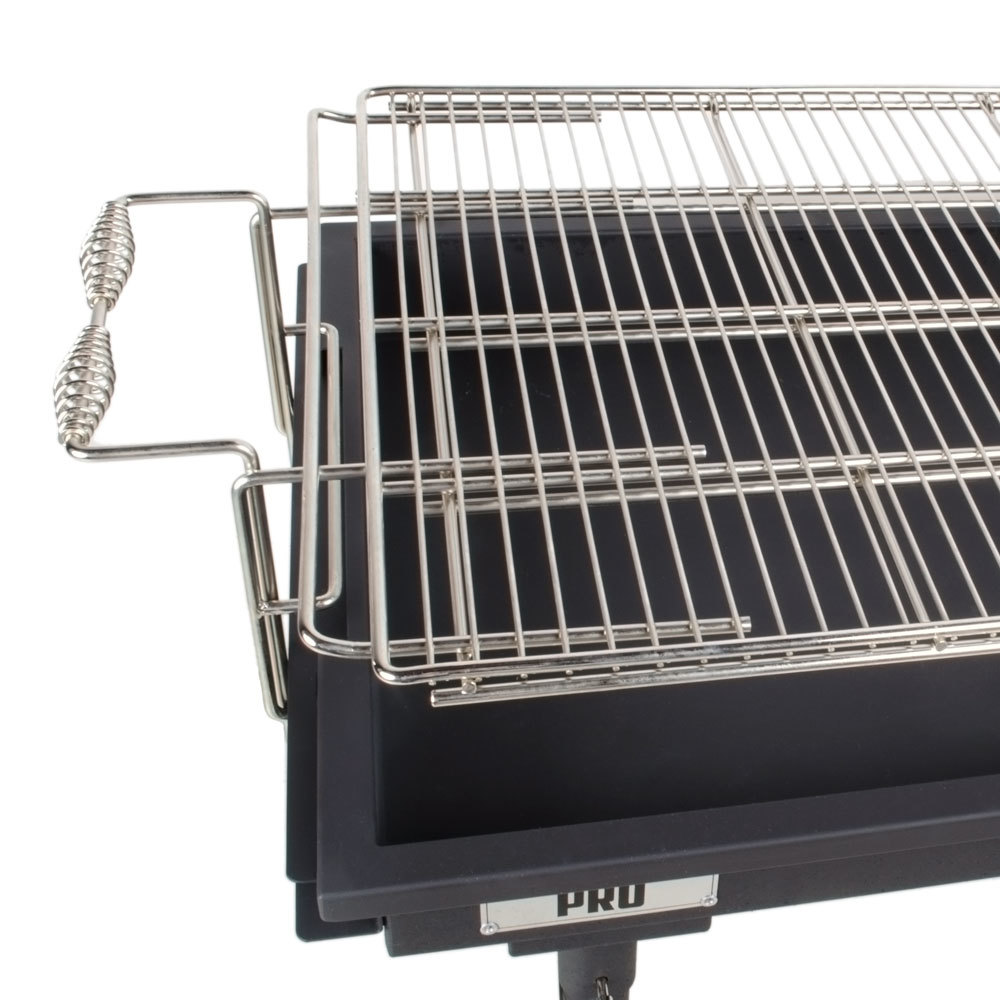 backyard pro 30 heavy duty steel charcoal grill with removable legs