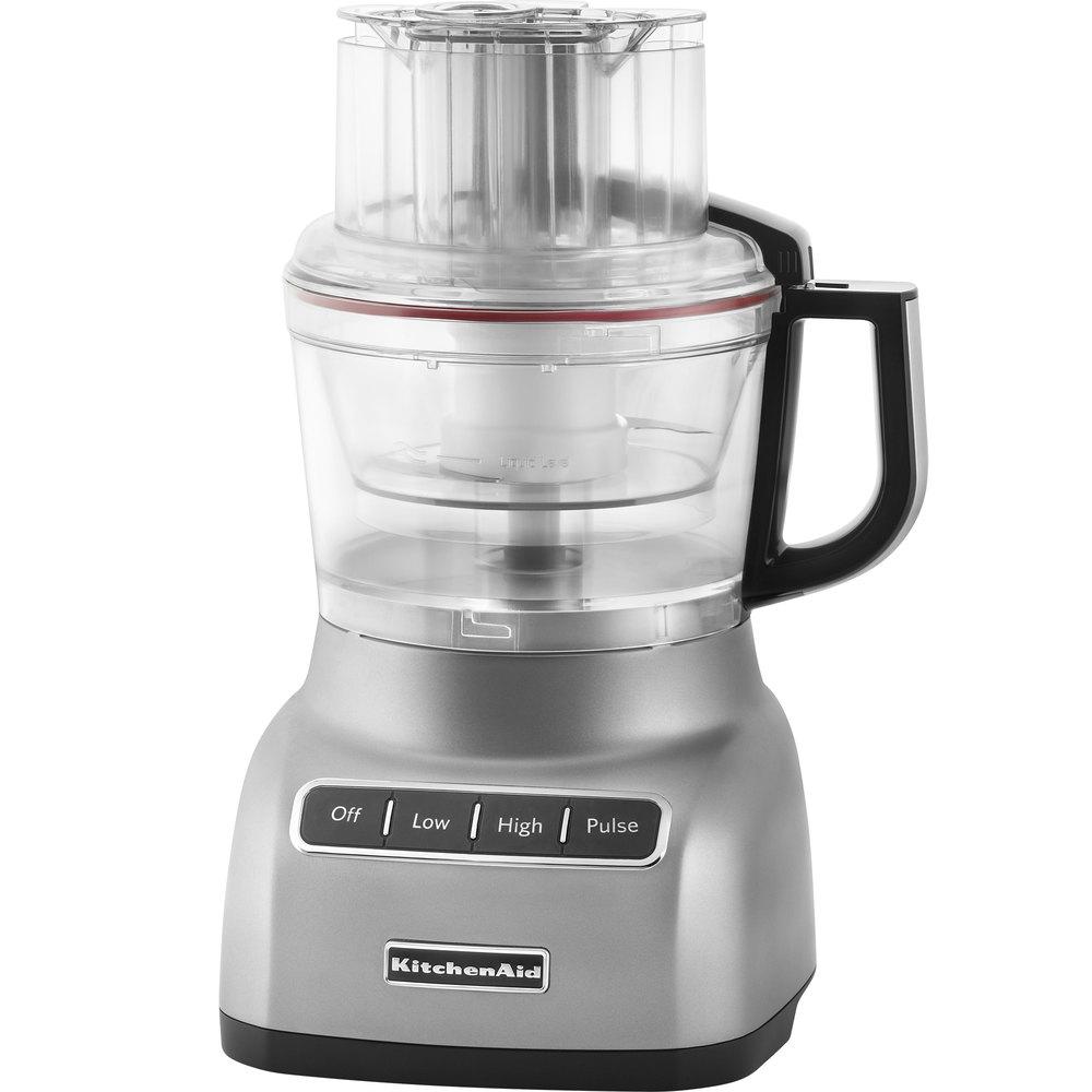 Kitchen Aid Food Processor ~ Kitchenaid kfp cu contour silver cup food processor