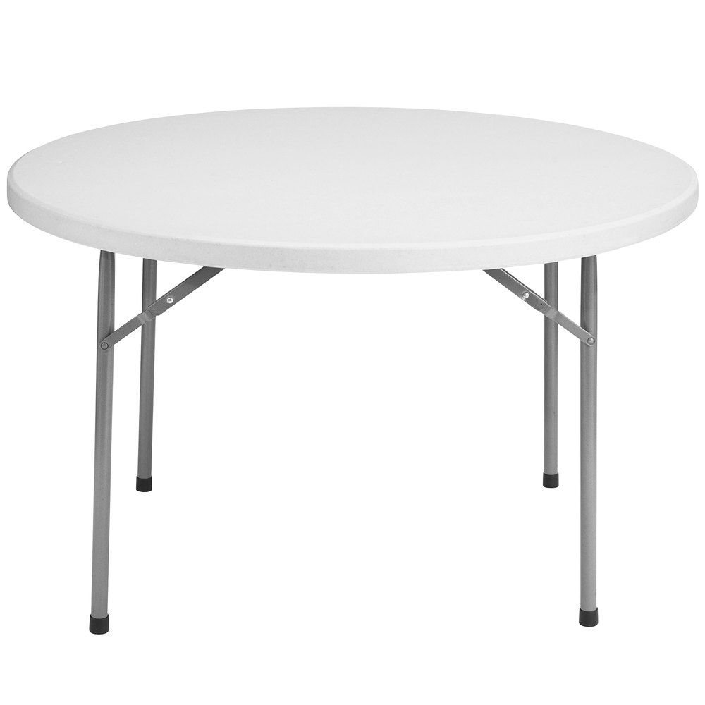 national public seating bt48r 48 round gray plastic folding table. Black Bedroom Furniture Sets. Home Design Ideas