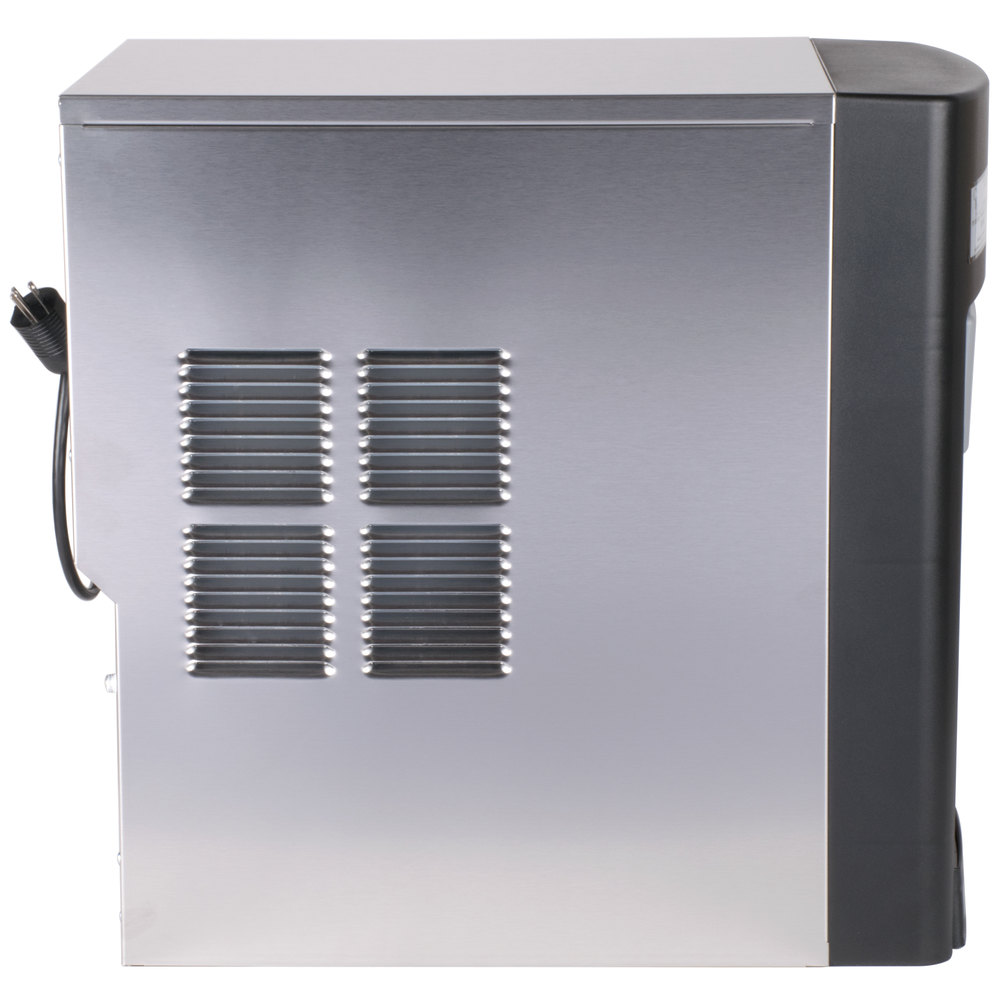 Countertop Ice Maker With Storage : ... Air Cooled Countertop Ice Maker and Water Dispenser - 15 lb. Storage