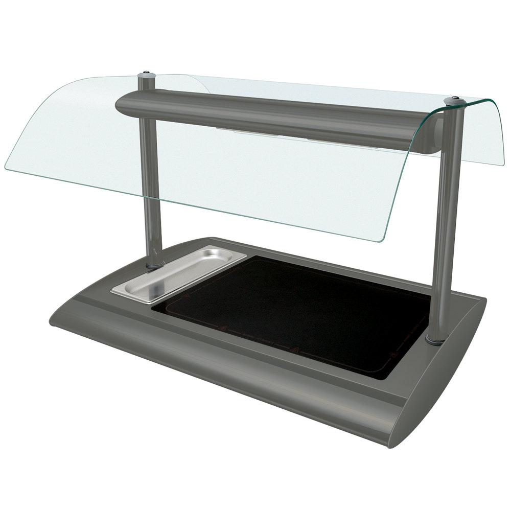 Hatco srgbw 1 gray granite serv rite portable heated glass for Sideboard porta