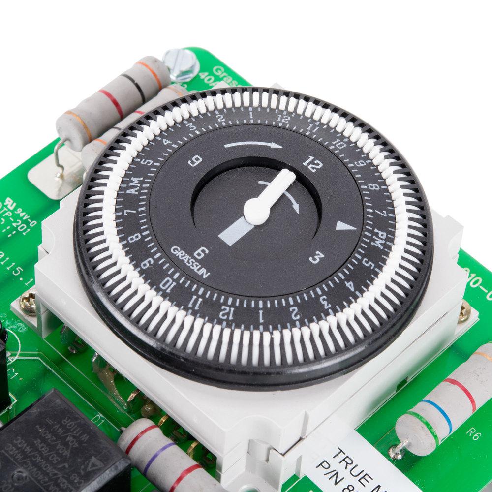 true 831994 defrost timer dtsx b 120 120v image preview · image preview true 831994 defrost timer