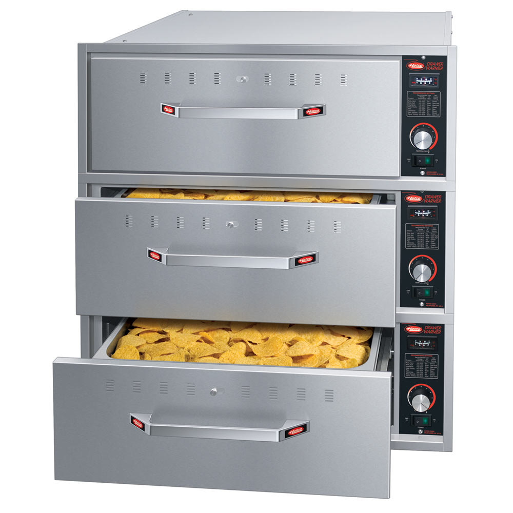 Food Warmer Oven ~ Hatco hdw b built in three drawer warmer w