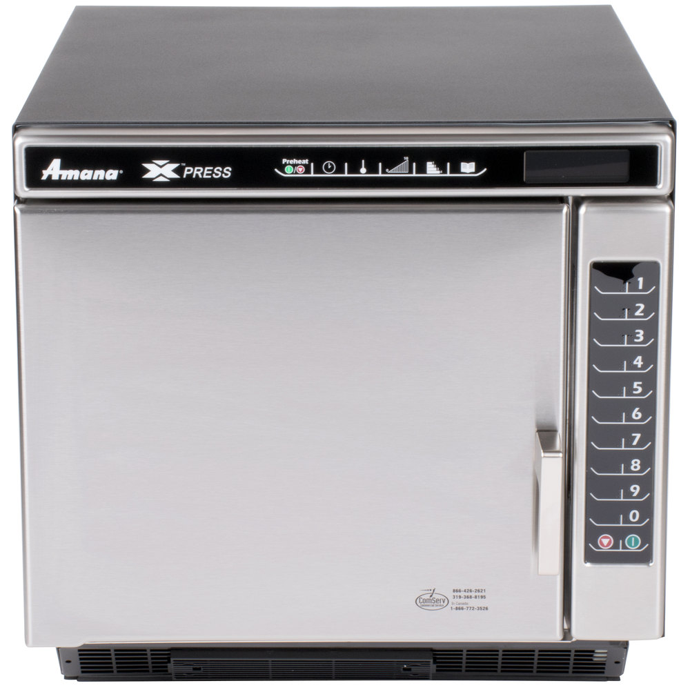 Amana Countertop Convection Oven : Amana Xpress ACE19N Jetwave High-Speed Accelerated Cooking Countertop ...