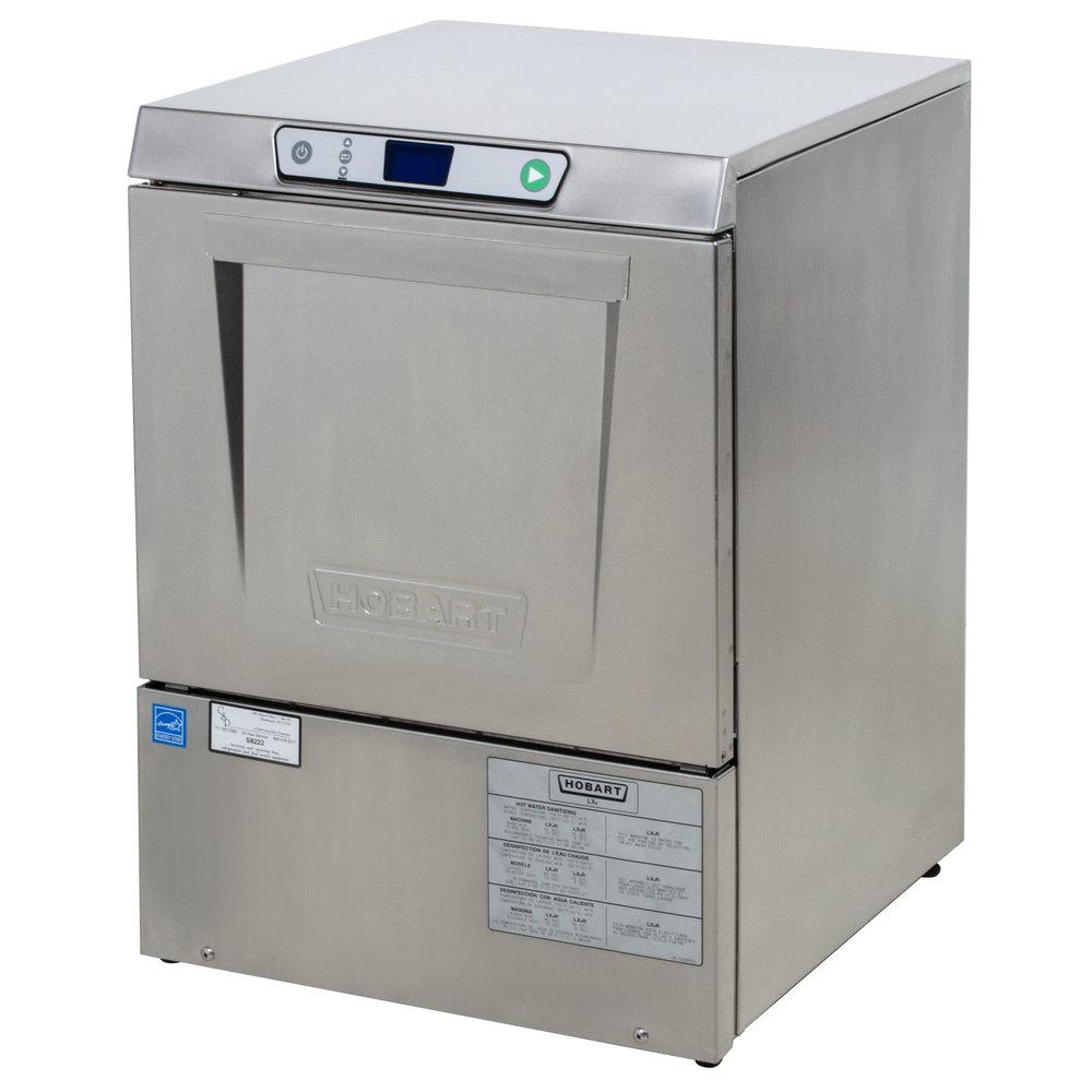 hobart dishwasher lxeh 2 undercounter dishwasher hot water sanitizing 120 208 240v. Black Bedroom Furniture Sets. Home Design Ideas