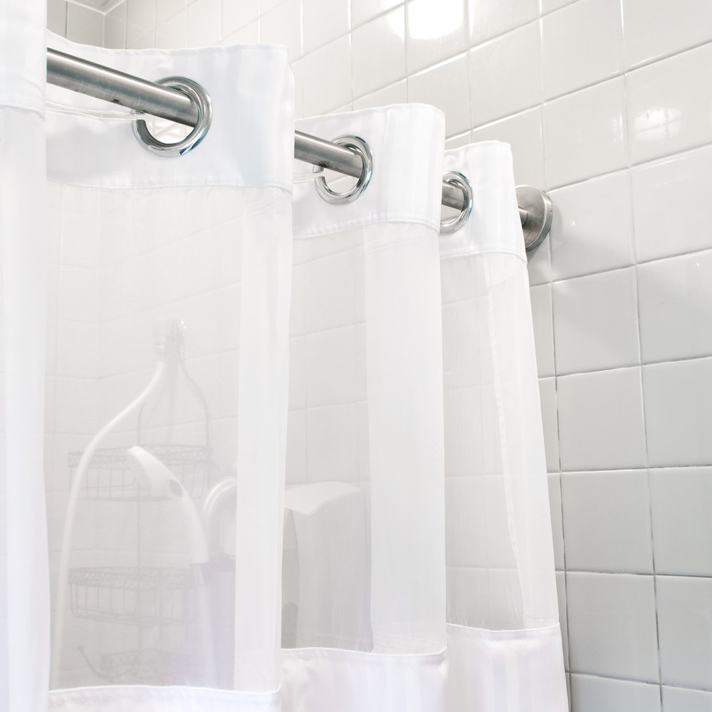 Hookless shower curtain -  Image Preview Image Preview