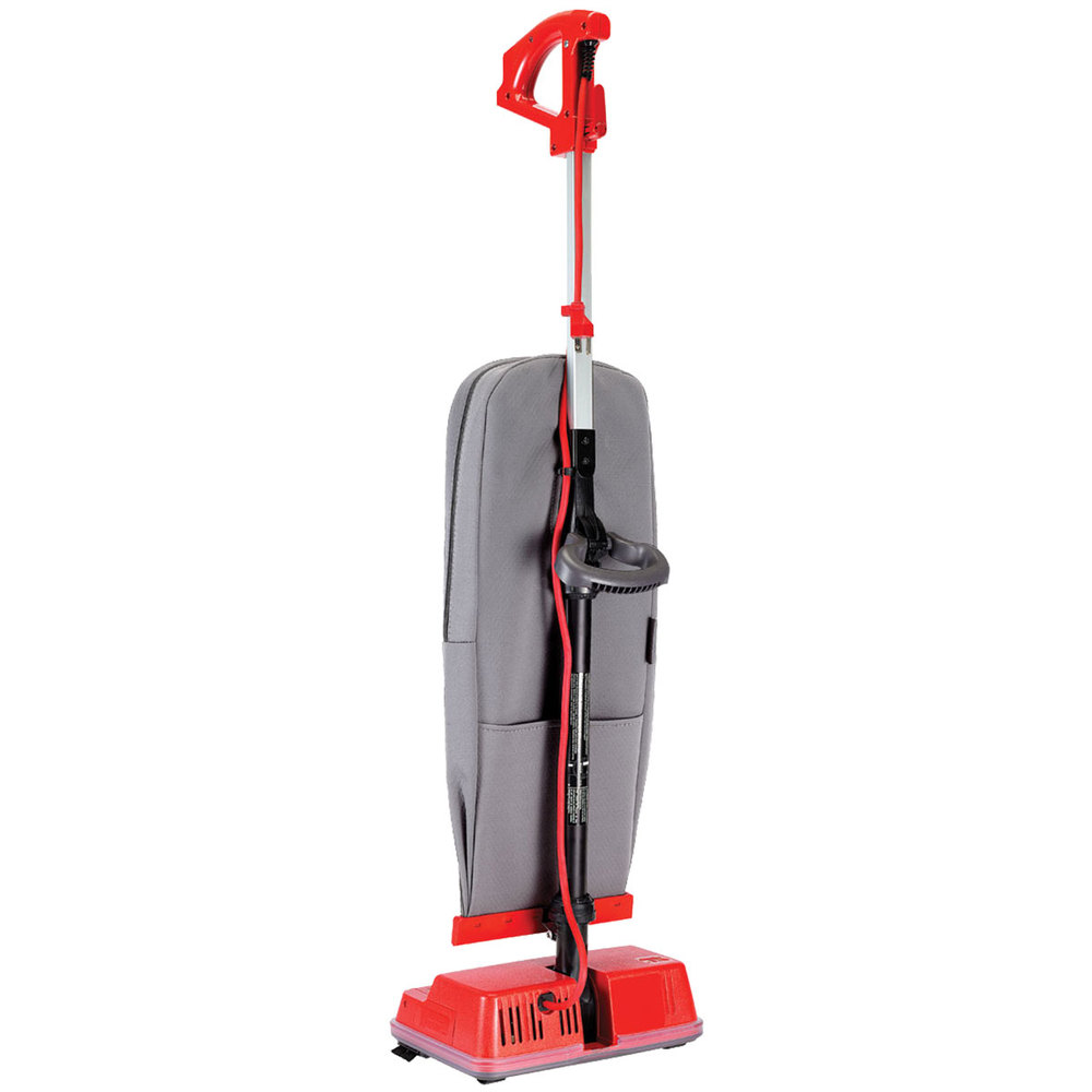 oreck u2000r 1 12 quot upright bagged vacuum cleaner