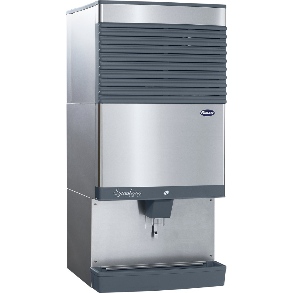 Quiet Countertop Ice Maker : ... SI Symphony Plus Countertop Air Cooled Ice Maker / Dispenser - 90 lb
