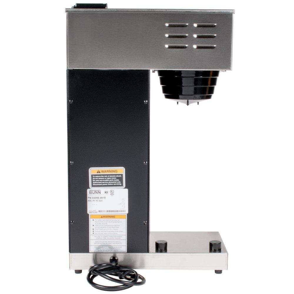 Bunn Coffee Maker Parts Vpr : Bunn 33200.0010 VPR-APS Pourover Airpot Coffee Brewer - 120V