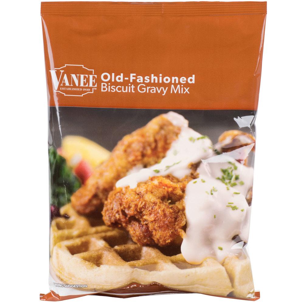 Vanee 1627 24 oz. Old Fashioned Biscuit Gravy Mix