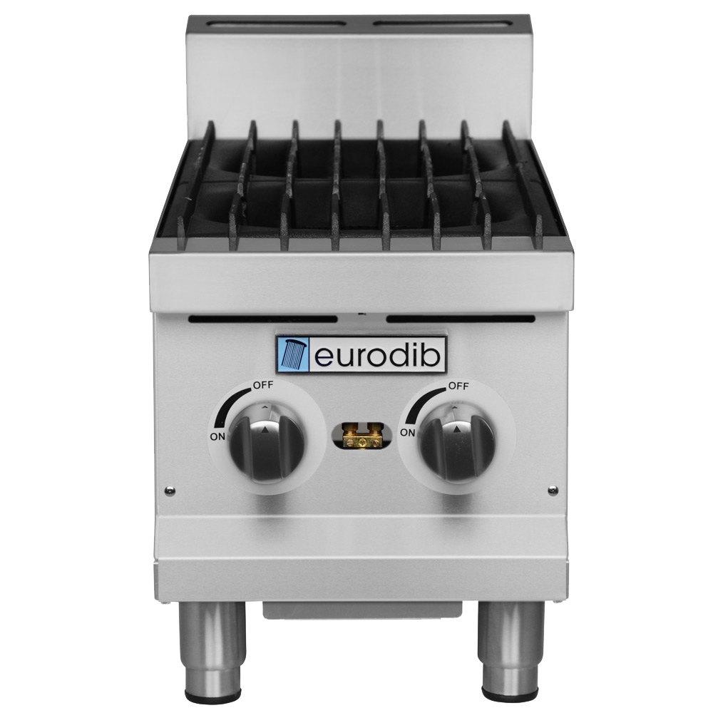 Countertop Range Gas : Eurodib HP212 12