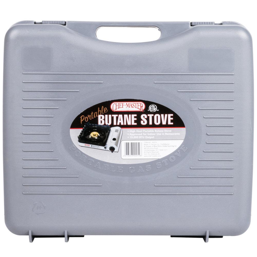Countertop Butane Burner : Chef Master 90019 1-Burner Butane Countertop Range - 15,000 BTU
