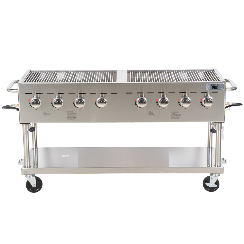 backyard pro c3h860 60 stainless steel outdoor grill