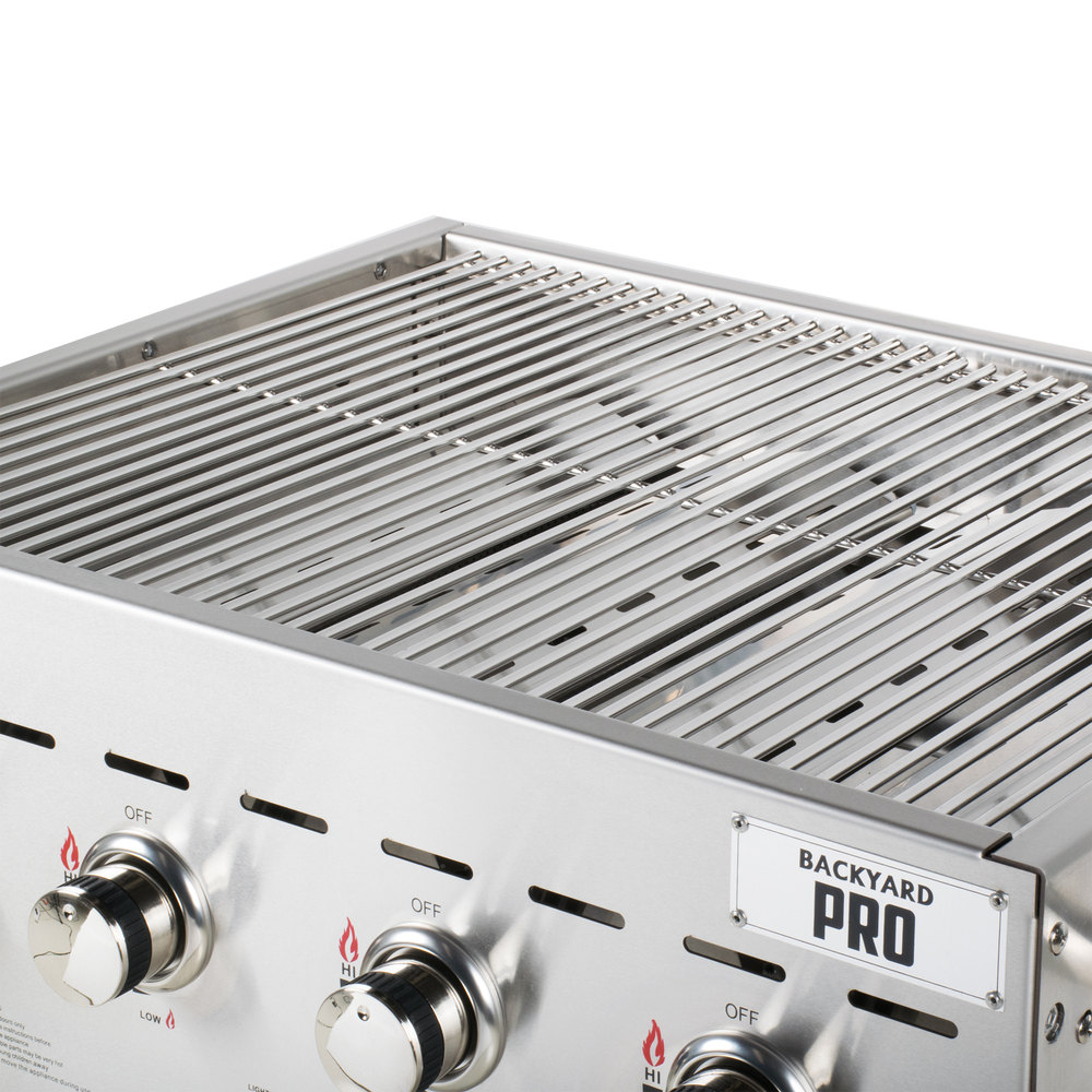 backyard pro c3h830 30 stainless steel outdoor grill