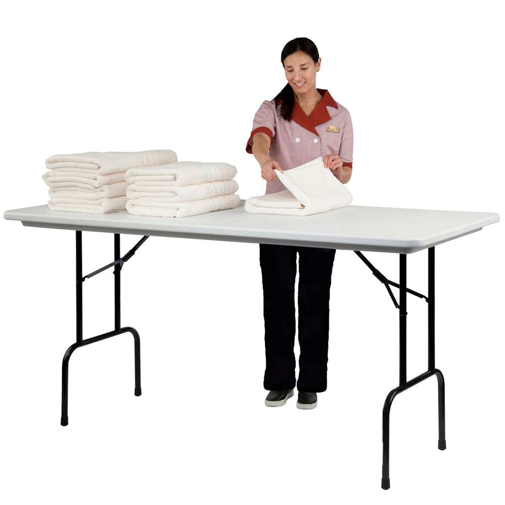 correll 36 bar height folding table 30 x 72 blow