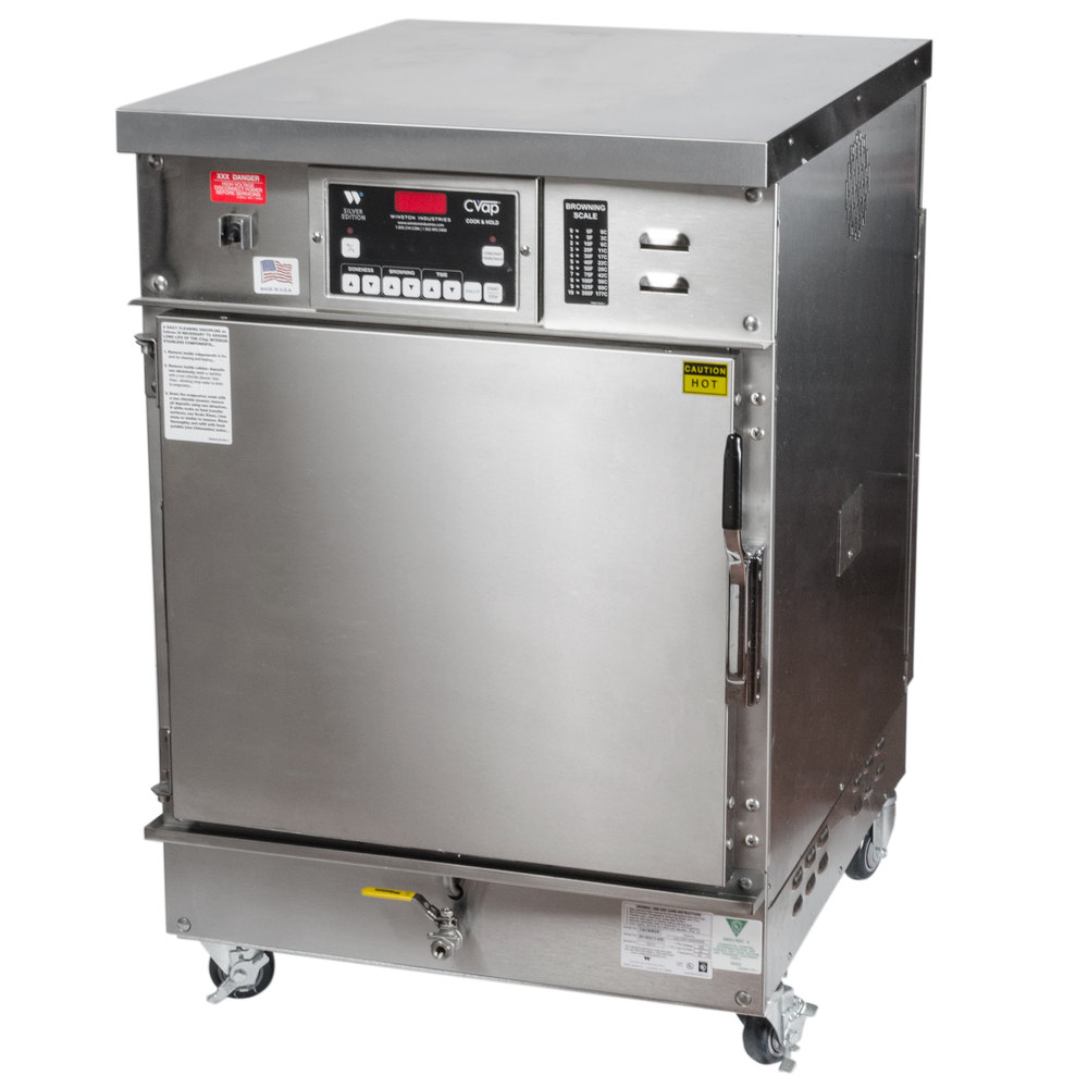 winston industries cac509 cvap half height cook and hold