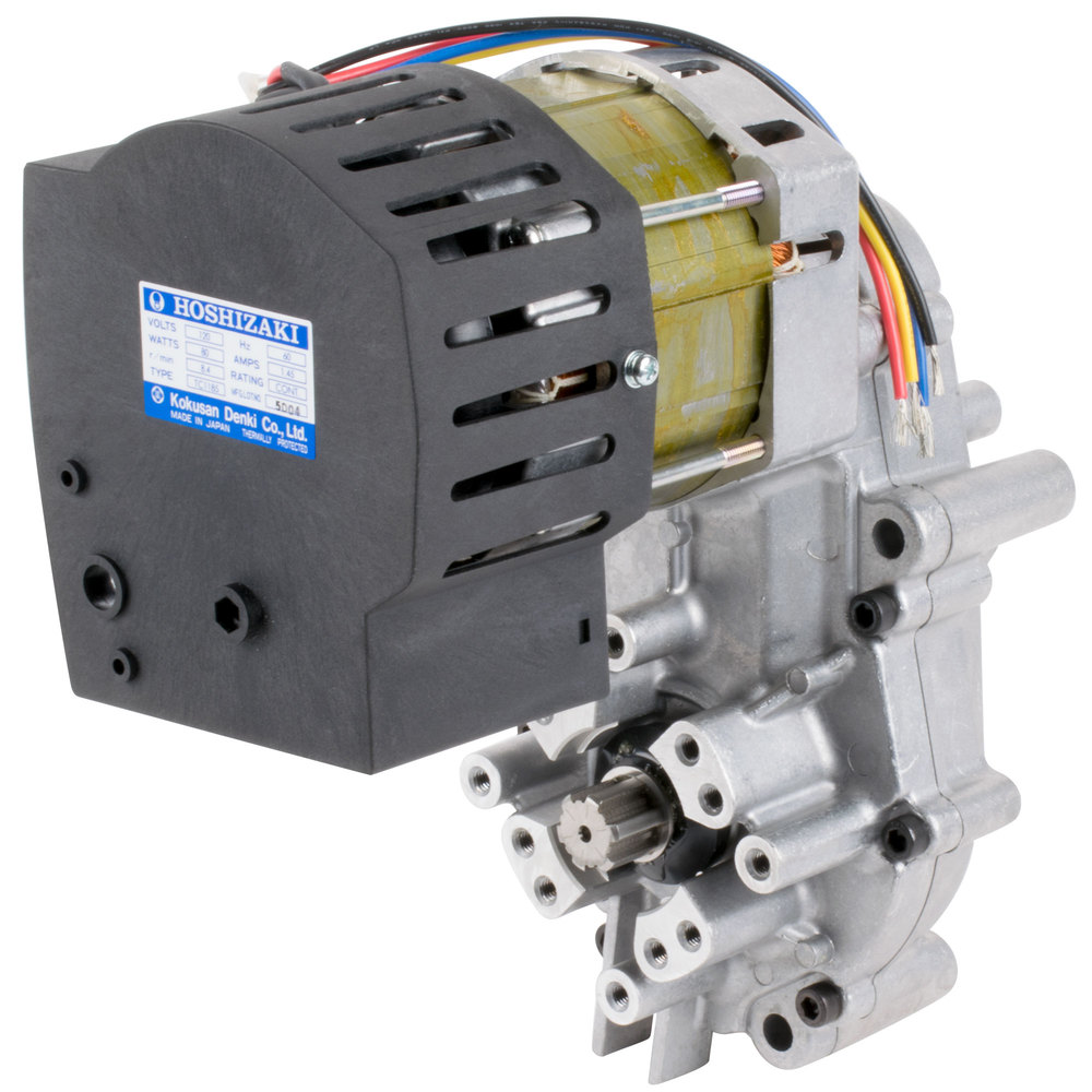 Hoshizaki sa0103 8 4 rpm gear motor 120v 80w for 4 rpm gear motor