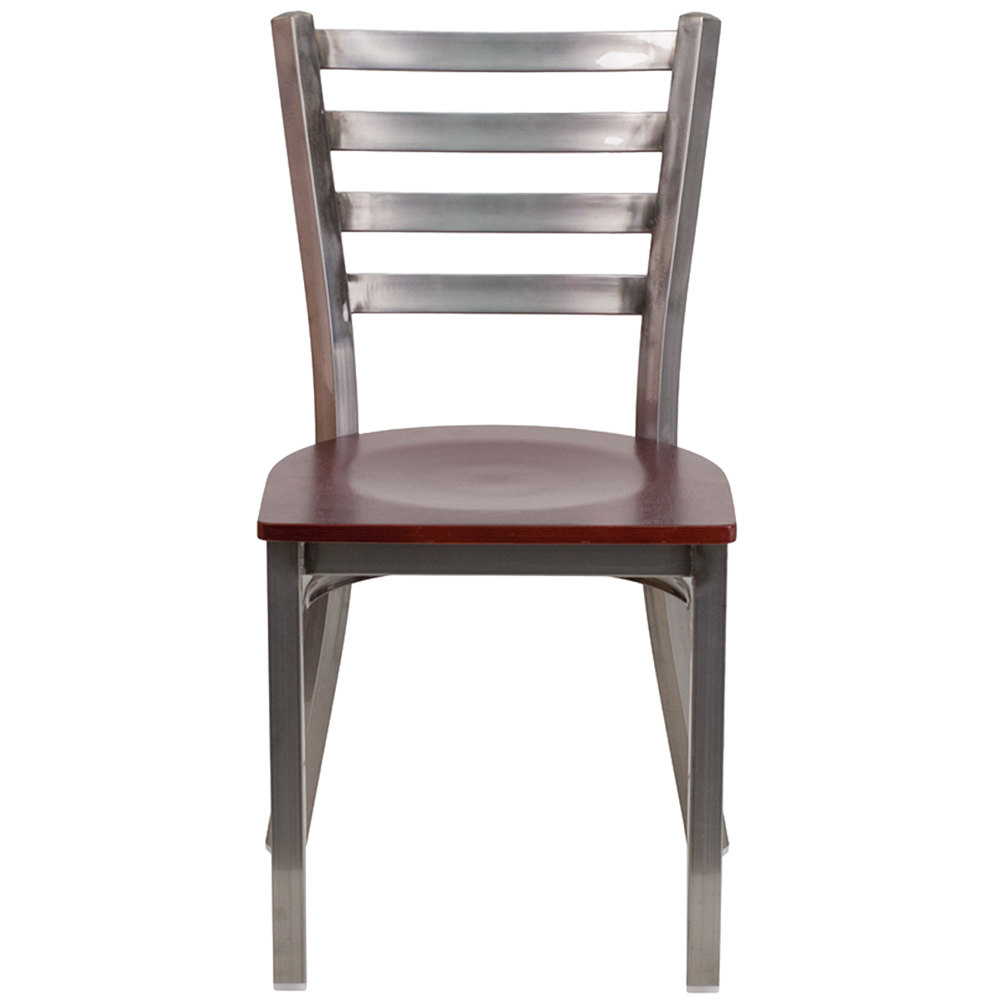 how to clean sticky wood chairs