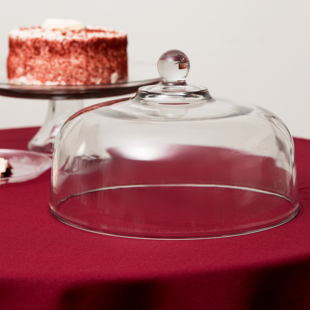 anchor hocking 340q 10 u0026quot  glass canton cake dome