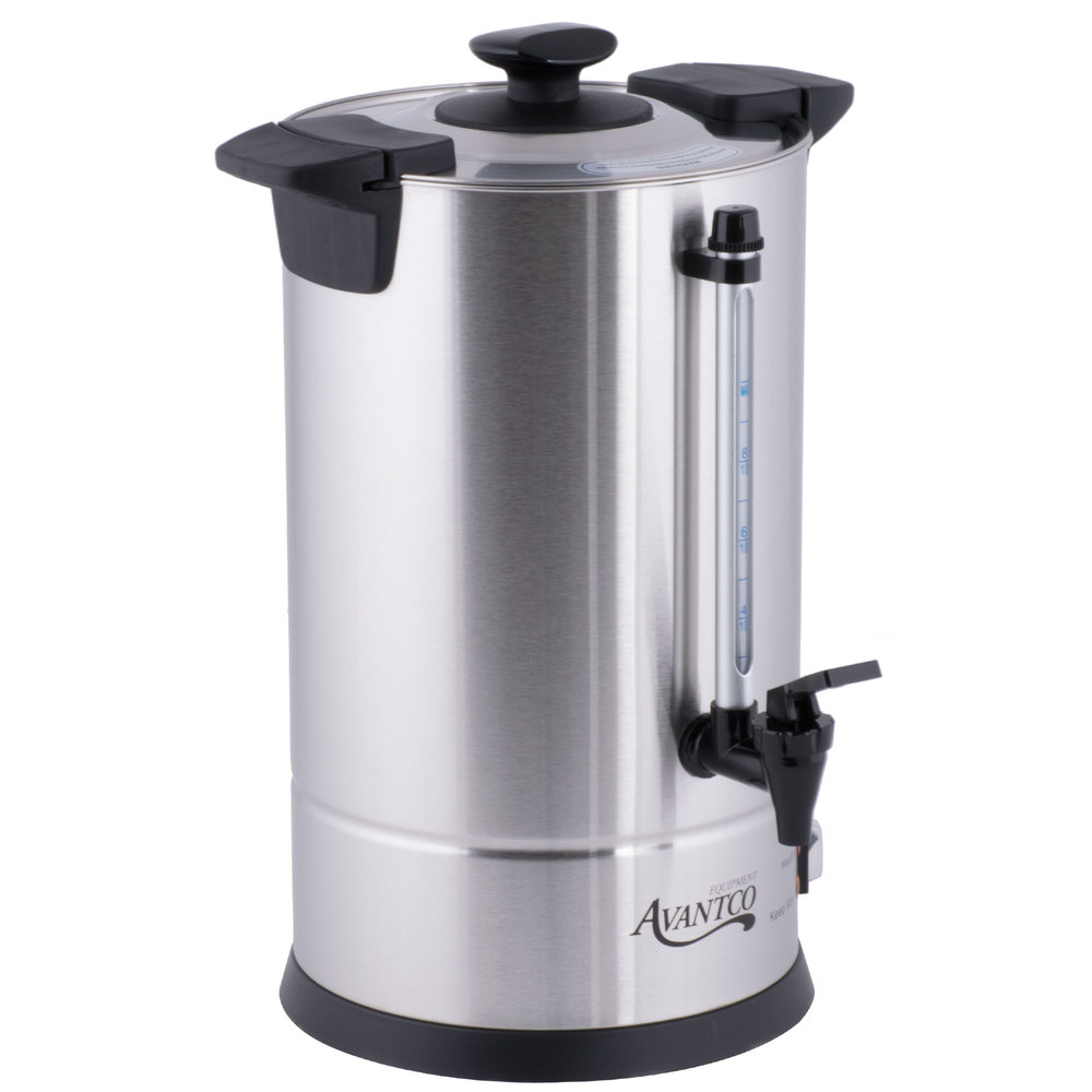 Coffee Maker With Metal Parts : Coffee Urn Maker Brewer 55 Cup Stainless Steel 1.9 Gallon Home Business Church eBay