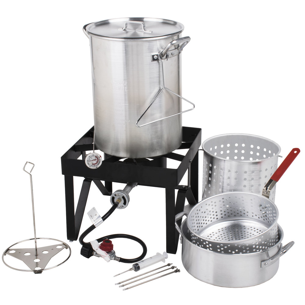 Turkey Fryer Kit Backyard Pro 30 Quart Deluxe Turkey