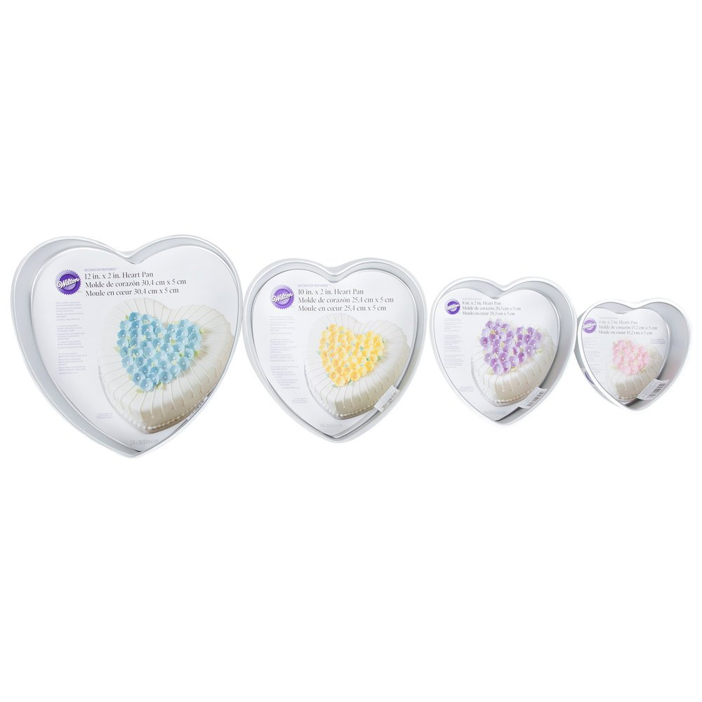 How To Use Wilton Heart Cake Pan Set