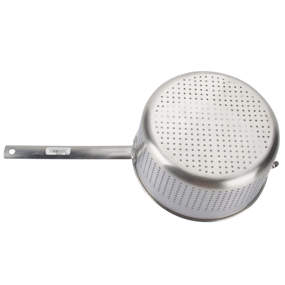Vollrath qt stainless steel spaghetti cooker strainer