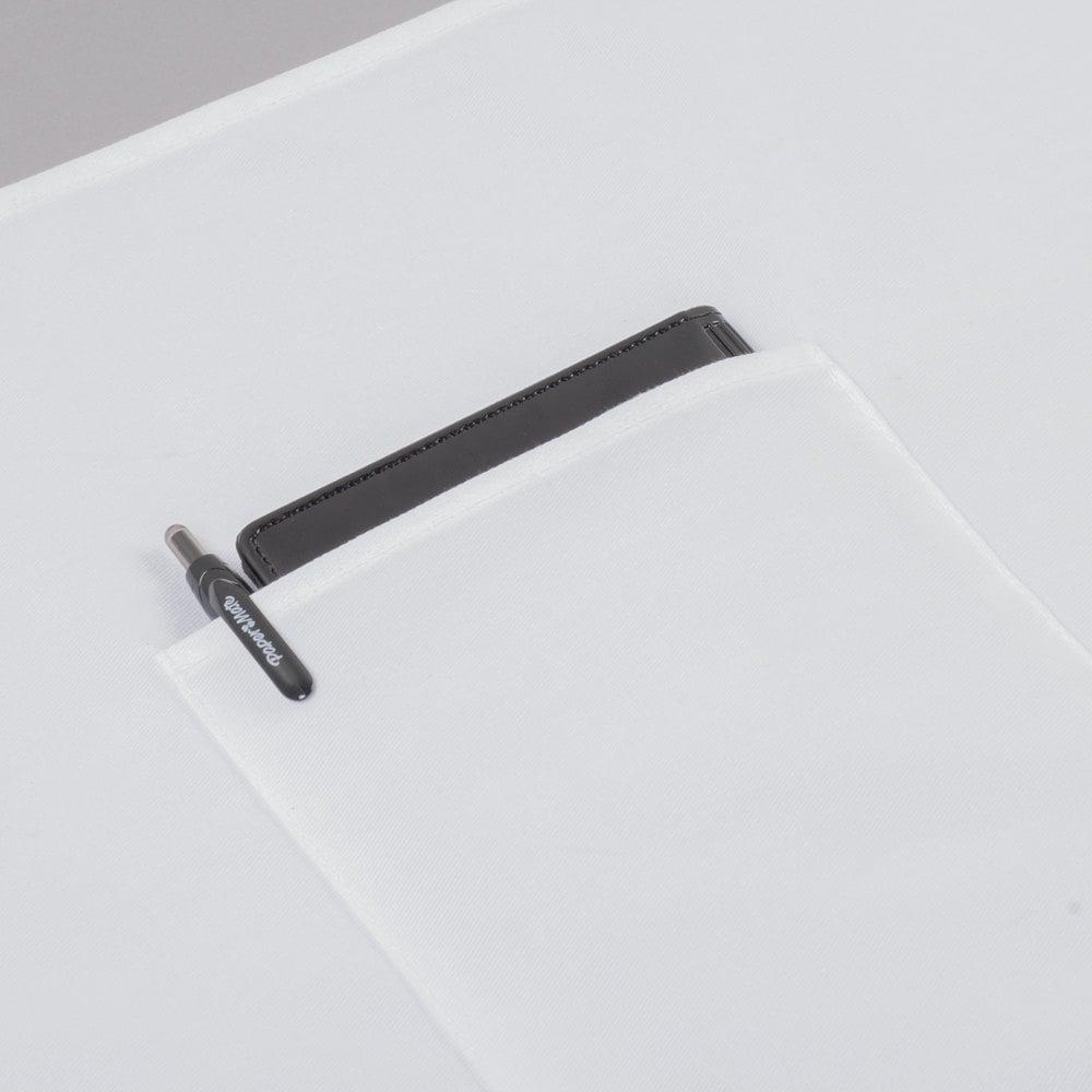 White bistro apron -  Image Preview Image Preview