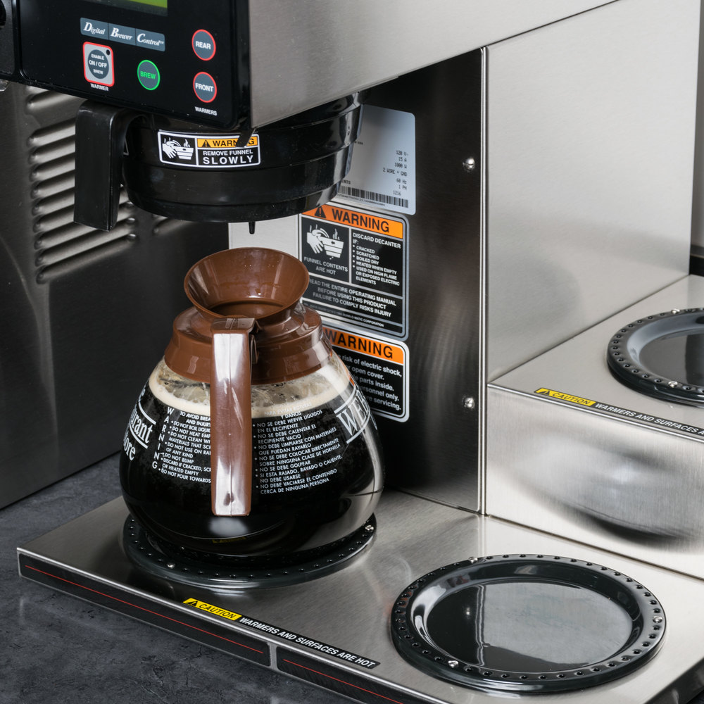 Bunn Coffee Maker With Auto Shut Off : Bunn 38700.0002 Axiom 15-3 Automatic Coffee Brewer with 3 Lower Warmers - 120V