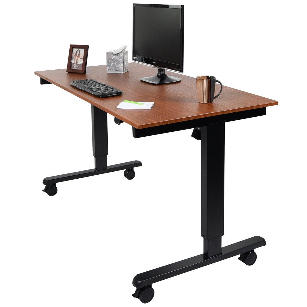 luxor h wilson stande 60 bk tk electric stand up desk. Black Bedroom Furniture Sets. Home Design Ideas