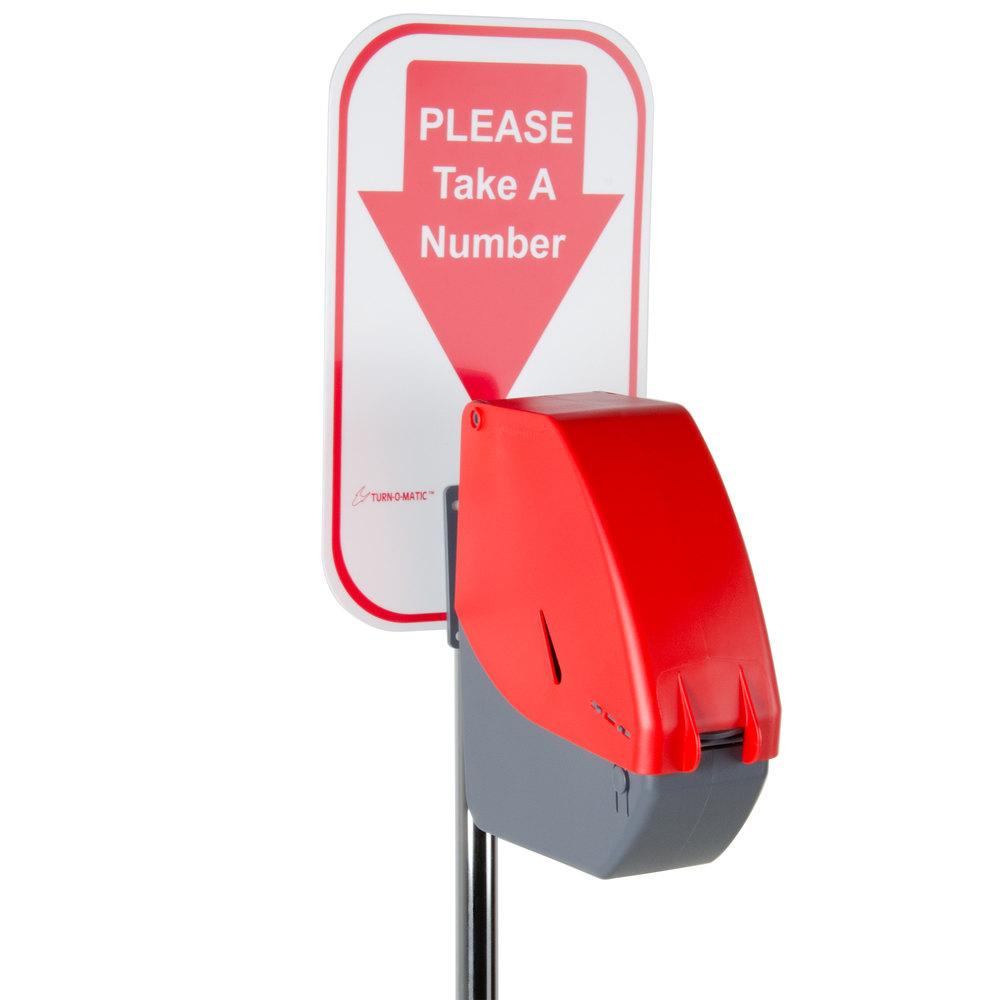 Deli Counter Ticket Dispenser Image Preview